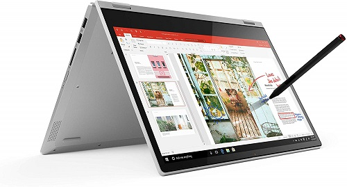 Lenovo Ideapad C340 8th Gen Intel Core i5 14 inch FHD 2 in 1 Convertible Laptop (8GB RAM/1TB SSD/Windows 10/MS Office/Platinum/1.65Kg), 81N400JMIN buy the best laptop in india with high configuration