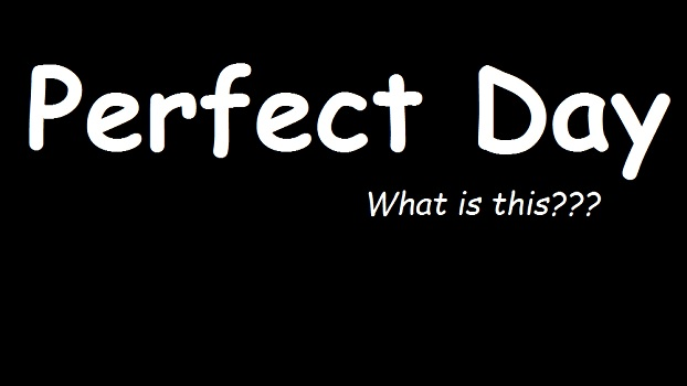 "What is a ""Perfect Day""? Have you ever gave a thought? what is a perfect day for you share with us"